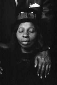 Aunt at Funeral of Nephew Killed in Vietnam