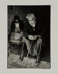 Blind Man at the Doorway of his House
