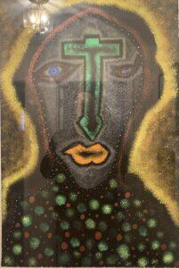 Head with Green Cross