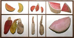Poivrons et pastèques