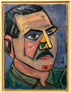 Portrait of Theodore Stamos